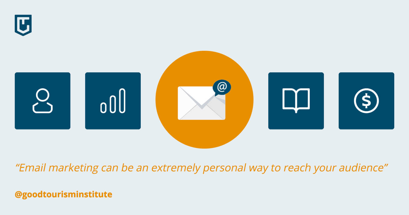 Email marketing can be an extremely personal way to reach your audience