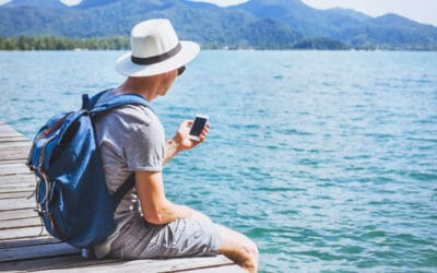 How travellers use social media (step-by-step)