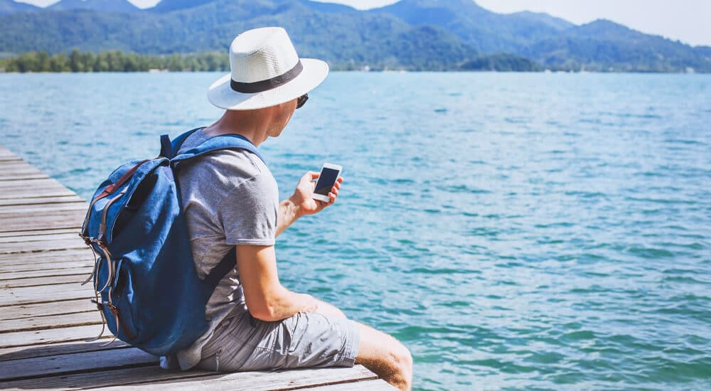 How travellers use social media