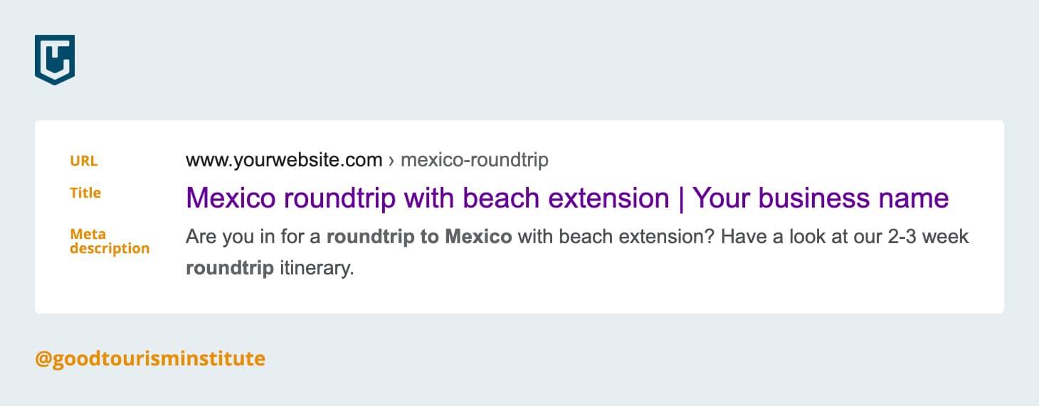 Search result Mexico roundtrip