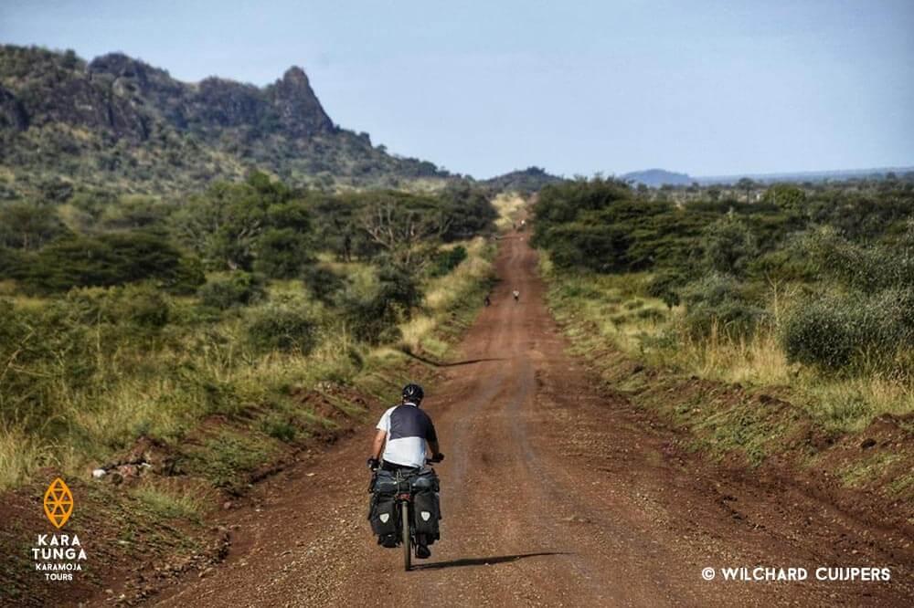 Bike adventure in the Karamoja region