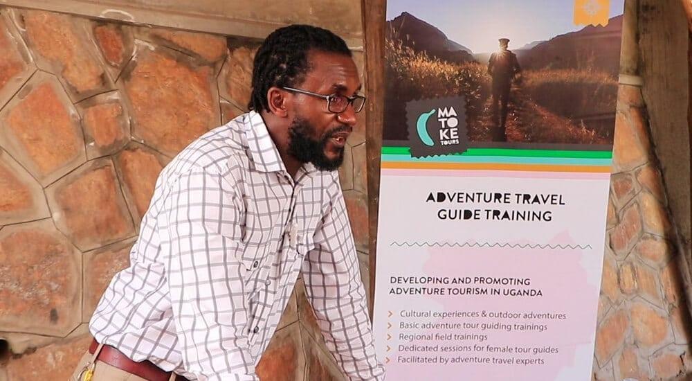Adventure guides training