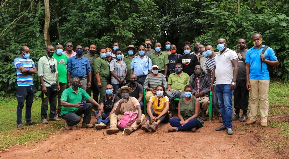 Adventure Guides training participants
